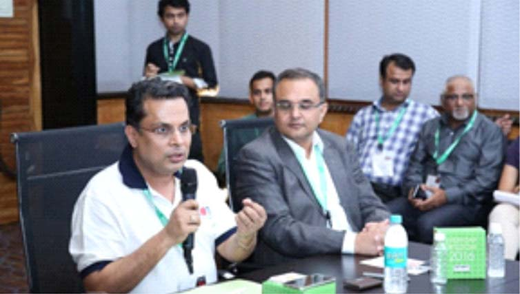 Atom Technologies conducted a roundtable to at India Fashion Forum