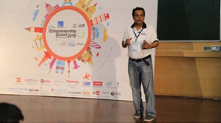 The Entrepreneurial Summit, 2016 organised by IIT Bombay ? Mumbai