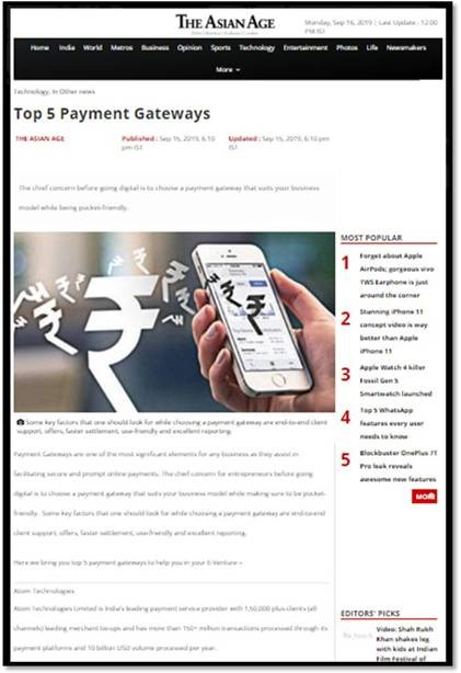 Top 5 Payment Gateways